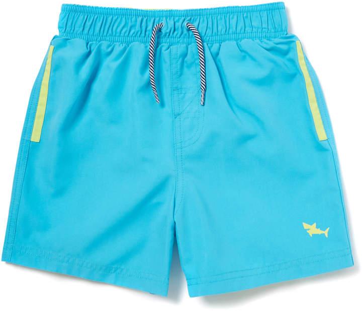 Tu Clothing Blue Woven Swim Shorts
