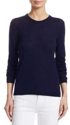 Ralph Lauren Iconic Style Cashmere-Blend Crewneck Pullover