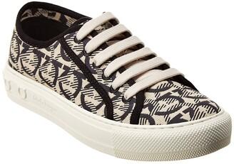 Salvatore Ferragamo Wimbledon Fabric Sneaker
