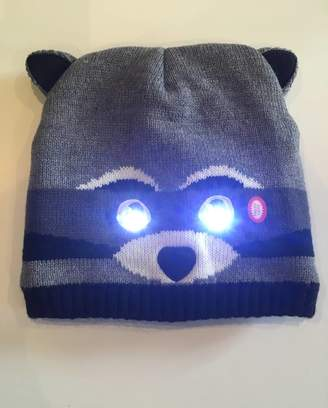 Rusty On The Movies Bright Eyes Animal Hats, With LED Lights. Raccoon