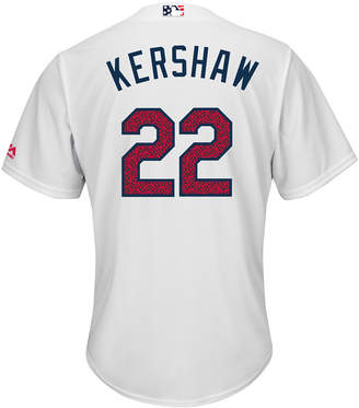 Majestic Men Clayton Kershaw Los Angeles Dodgers 2016 Stars & Stripes Cool Base Jersey