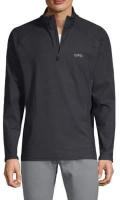 The Mid Half-Zip Sweater