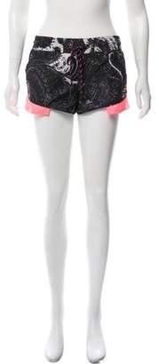 The Upside Printed Mini Shorts