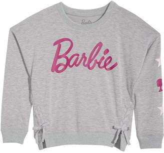 Barbie Big Girls Lace-Up Top