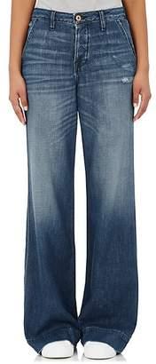 NSF Women's Hepburn Wide-Leg Jeans - Blue Size 24