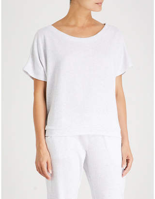 Eberjey Leonor cotton-blend top