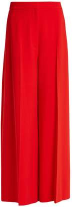 Stella McCartney Wide-leg stretch-cady trousers