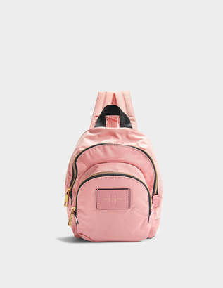 Marc Jacobs Mini Double Pack Backpack in Rose Nylon