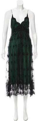 Miguelina Lace Midi Dress