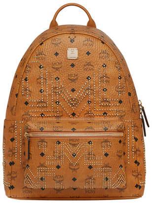 MCM Men's Stark Gunta Medium Studded Backpack