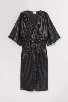 H&M Sequined dress - Black
