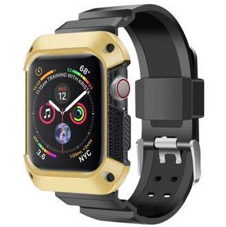 edc726917ca at Walmart.com · Luxmo LUXMO for Apple Watch 4 Bands Rugged Protective  Silicone Frame Case