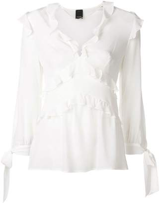 Pinko ruffled blouse