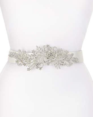 Deborah Drattell Venus Long-Jewel Belt, White