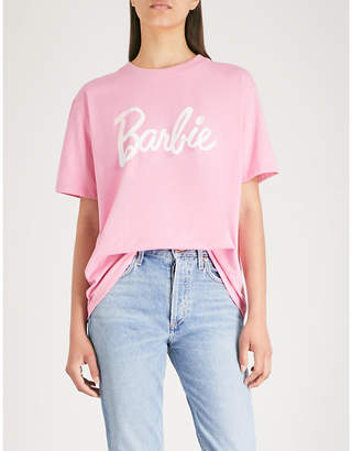 Missguided x Barbie stretch-jersey T-shirt