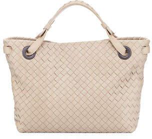 Bottega Veneta Small Intrecciato Garda Shoulder Bag