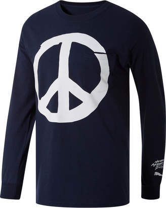 PUMA Peace + Love x MIA x Josh Vides Men's Classic Long Sleeve Pocket T-Shirt