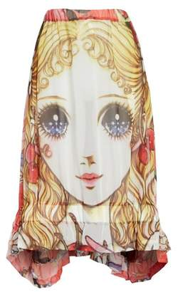 Comme des Garcons Manga Print Skirt