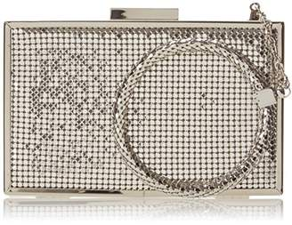 Whiting & Davis Metal Mesh Scale Bracelet Evening Bag
