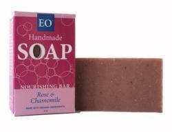 EO Rose & Chamomile Shea Nourishing Soap Bar