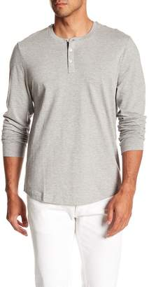 Original Penguin Heathered Jacquard Henley