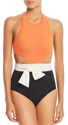 Flagpole Lynn Color-Block One Piece Swimsuit - 100% Exclusive