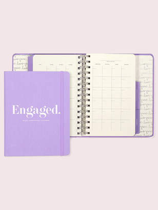 Kate Spade engaged bridal appointment calendar