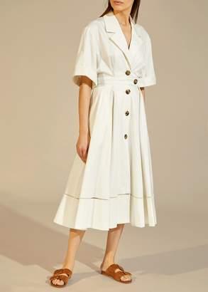 KHAITE The Chloe Dress in White
