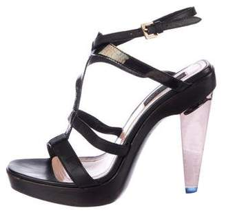 Derek Lam Leather High Heel Sandals