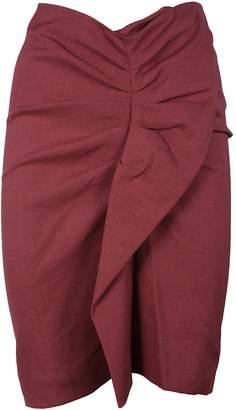 Isabel Marant Ruffle-trimmed Skirt