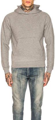 John Elliott Raglan Pullover Hoodie in Dark Grey | FWRD