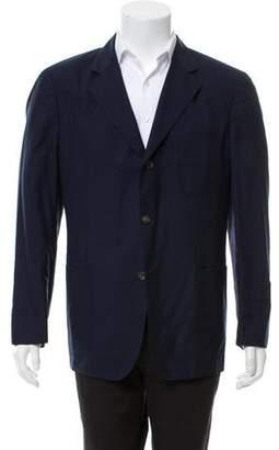 Loro Piana Voyager Cashmere & Silk Two-Button Blazer