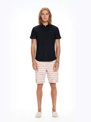 Scotch & Soda Short Sleeved Poplin Shirt | Regular fit
