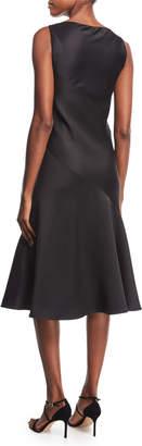 Calvin Klein Satin Bias-Cut Slip Dress