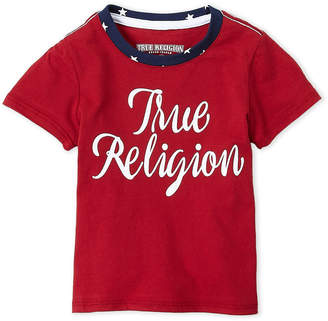 True Religion Toddler Girls) Red Graphic Tee