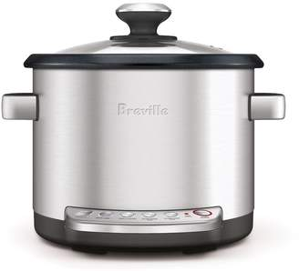 Breville the Risotto Plus 4-qt. Stainless Steel Digital Rice Cooker