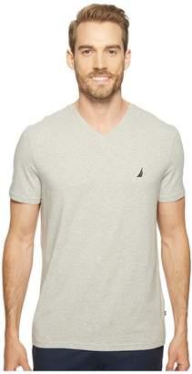 Nautica Short Sleeve V-Neck Tee Men's Clothing
