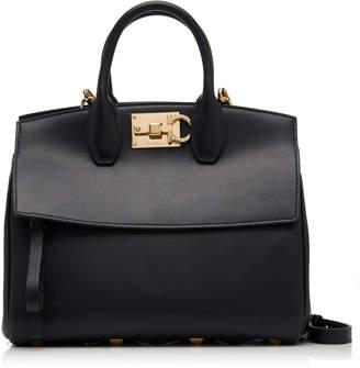b9b4528cda5f Free Shipping   Returns at MODA OPERANDI · Salvatore Ferragamo The Studio  Leather Top Handle Bag