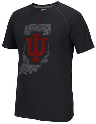 adidas Men's Indiana Hoosiers Geometric Flow T-Shirt
