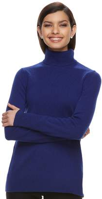 Apt. 9 Women's Cashmere Turtleneck Sweater