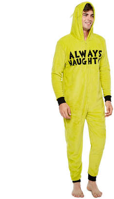 Asstd National Brand Grinch Men's Union Suit - Big and Tall