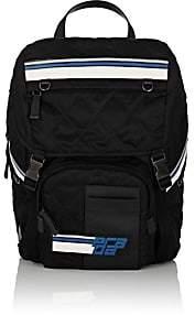 Prada Men's Twill Backpack-Dk. Blue