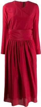 Sara Lanzi v-neck midi dress