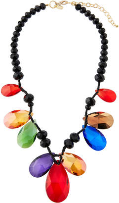 Emily and Ashley Greenbeads By Rainbow Teardrop Beaded Necklace