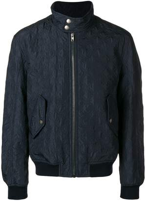 Joseph Maurice quilted bomber jacket