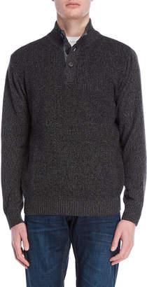 Weatherproof Vintage Waffle Knit Pullover Sweater