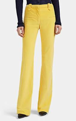 Altuzarra Women's Serge Corduroy Flared Trousers - Yellow