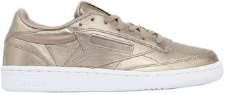 Club C 85 Hype Metallic Leather Sneakers