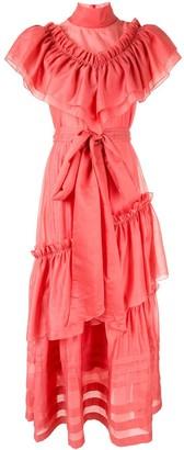 Anna October ruffle maxi dress