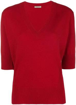 Bottega Veneta deep V-neck sweater